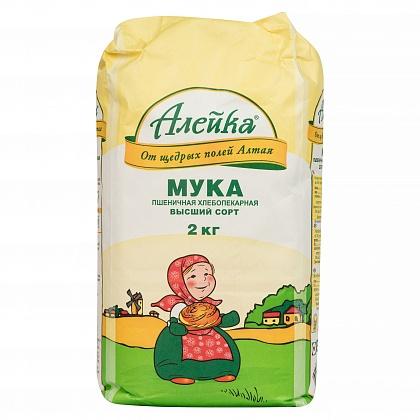 Мука пшеничная хлебопекарная «Алейка» сорт Высший