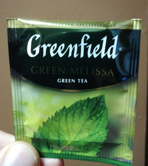фото3 Чай зеленый байховый Гринфилд Грин Мелисса в пакетиках