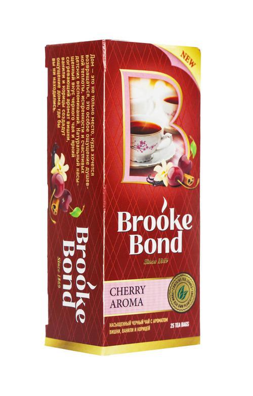 цена Чай черный байховый ароматизиров cherry spice с корицей 24x25пx1.5г