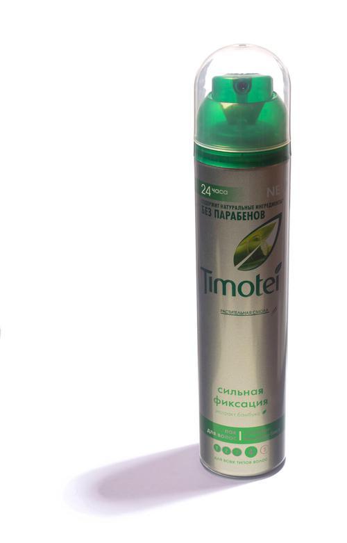Ак для укладки волос Timotei сильная фиксация 250мл