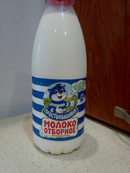 фото22 Молоко Простоквашино, цельное отборное питьевое пастеризованное , 930мл.