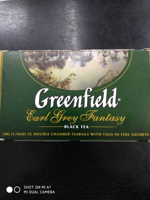 стоимость Чай черный байховый Гринфилд Эрл Грей Фэнтази в пакетиках
