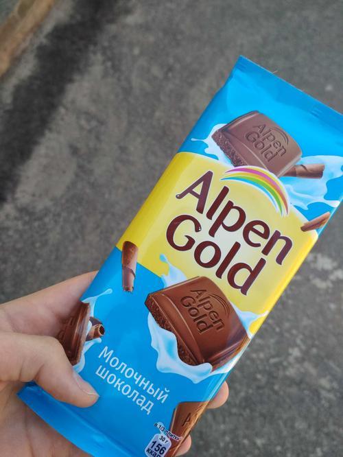 фото13 Шоколад Alpen Gold молочный, 90гр.