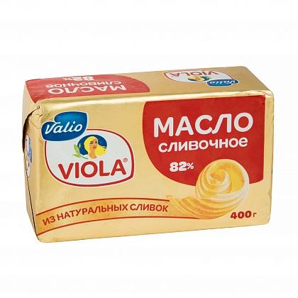 Масло VIOLA сливочное. Массовая доля жира 82%
