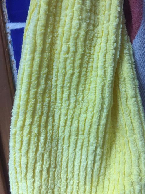 Полотенце жёлтое