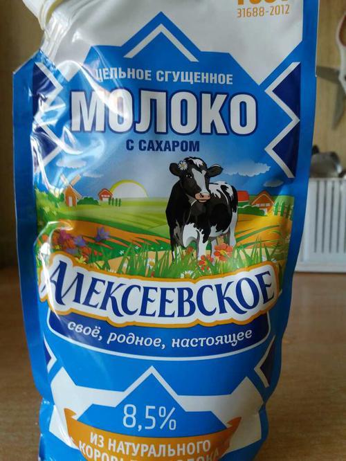 """фото4 Молоко сгущенное """"алексеевское"""" цельное с сахаром 8,5%"""