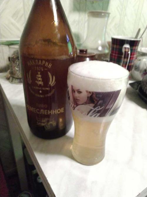 """пиво светлое нефильтрованное неосветленное """"ремесленное"""" непастеризованное"""