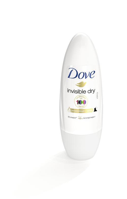 """стоимость Дезодорант шариковый Dove """"Невидимый"""", антиперспирант"""