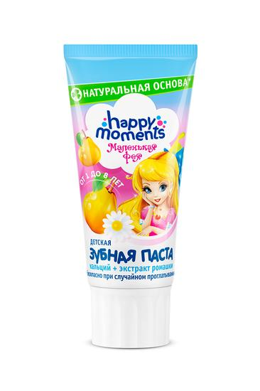 "цена Зубная паста ""МАЛЕНЬКАЯ ФЕЯ"" жемчужная улыбка"