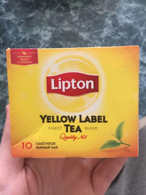 стоимость Чай черный yellow label 10пакх60 transfer