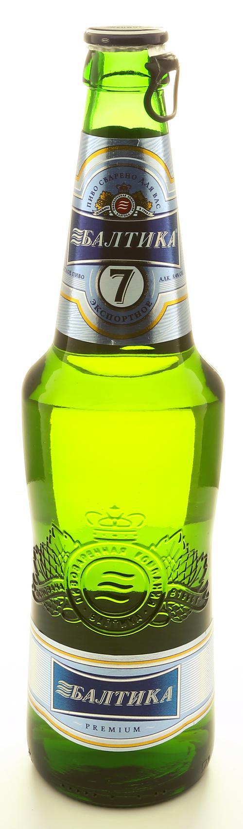 Пиво светлое Балтика Экспортное №7
