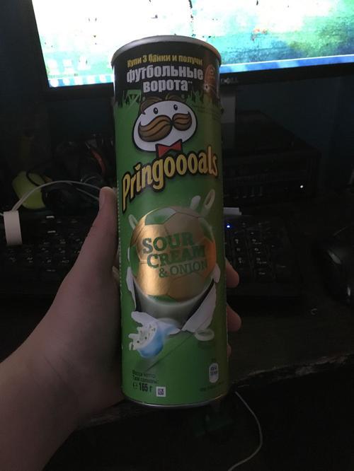 фото6 Чипсы Pringles со вкусом сметаны и лука, 165гр.
