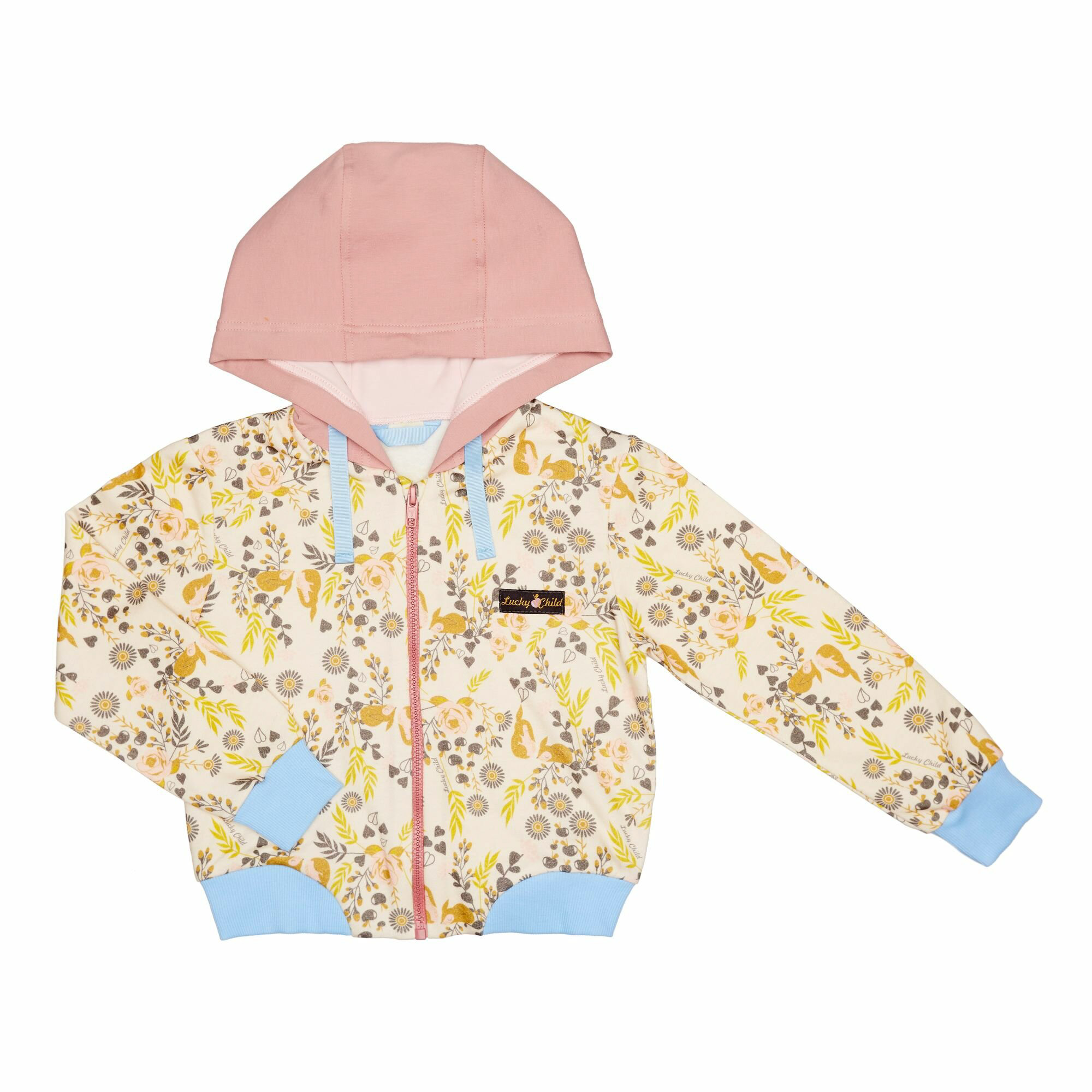 Куртка Lucky Child  Осенний лес цветная 128-134
