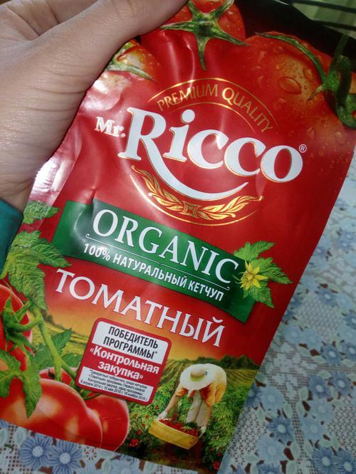 фото7 Кетчуп томатный Pomodoro Speciale Mr.Ricco. Высшая категория. Пастеризованный.