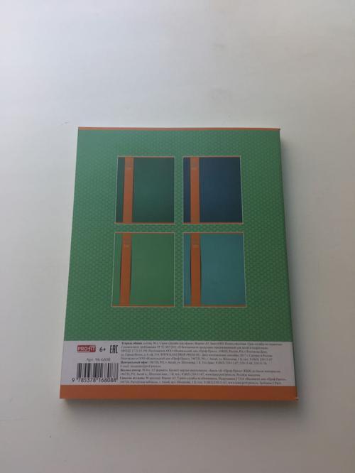 Тетрадь 96лист A5 клет profit дизайн для офиса 966808 проф-пресс