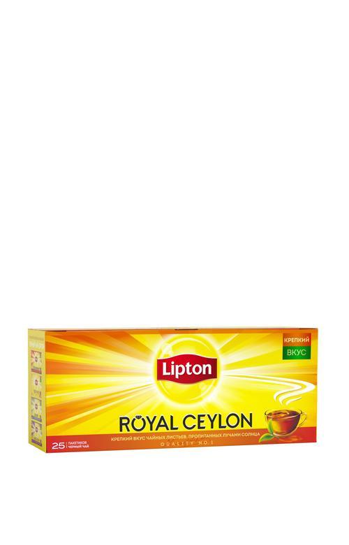 фото Чай Lipton Royal Ceylon, черный байховый цейлонский