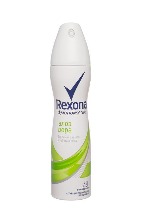 Антиперспирант Rexona спрей с экстрактом алоэ вера 150мл