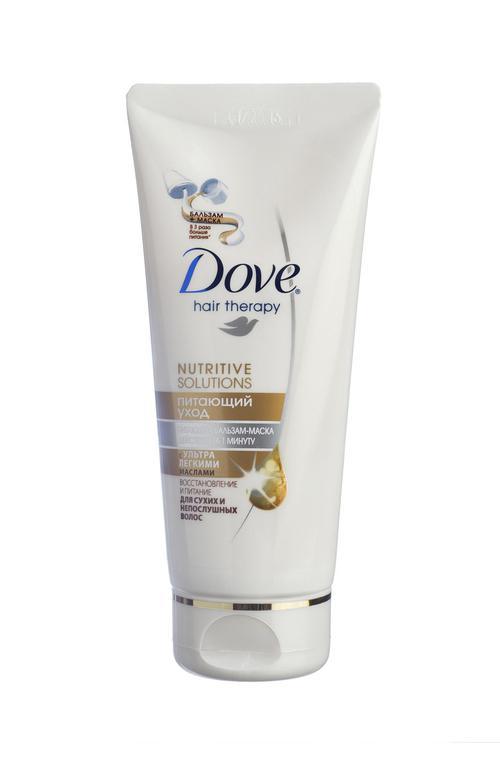 цена Dove hair therapy-Питающая Маска,бальзам для волос