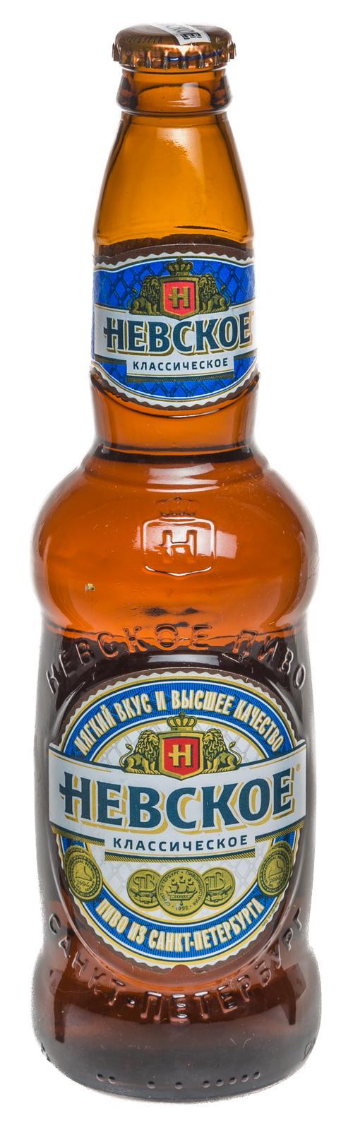 стоимость Пиво светлое Невское Классическое
