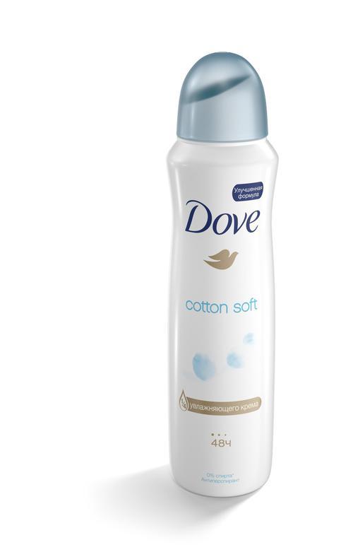 отзыв Дезодорант Dove cotton soft
