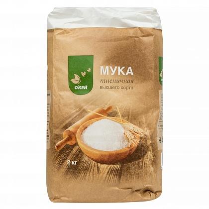 Мука пшеничная хлебопекарная «О`Кей» высший сорт