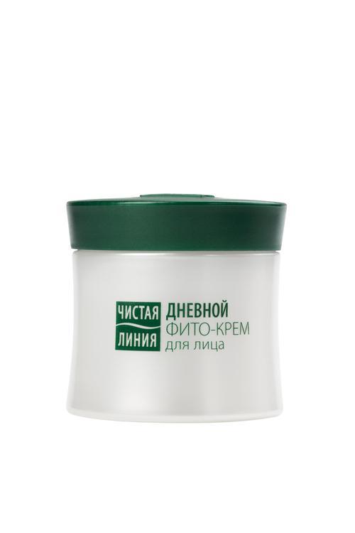 цена Дневной фито-крем для лица чистая линия от 35 лет вербена и первоцвет для всех типов кожи