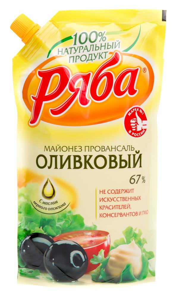 "Майонез ""Ряба"" оливковый"