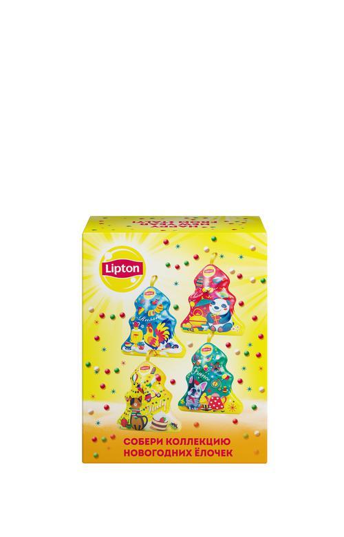 """фото1 Набор lipton """"новогодняя ёлочка"""" с листовым чаем"""