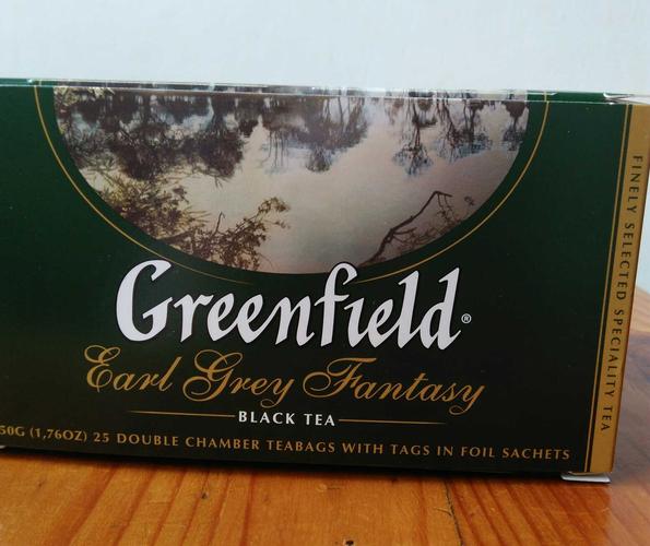 фото Чай черный байховый Гринфилд Эрл Грей Фэнтази в пакетиках