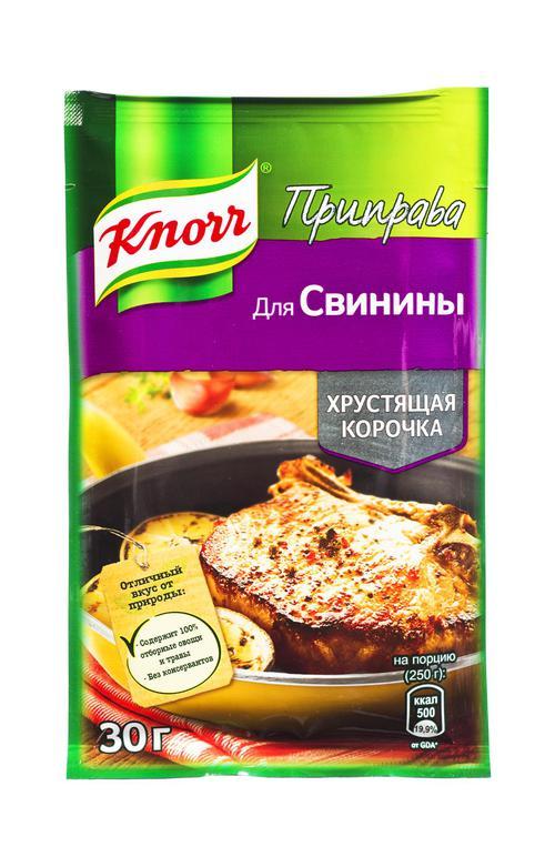 отзыв Кнорр приправа для свинины в хрустящей корочке 28х30г