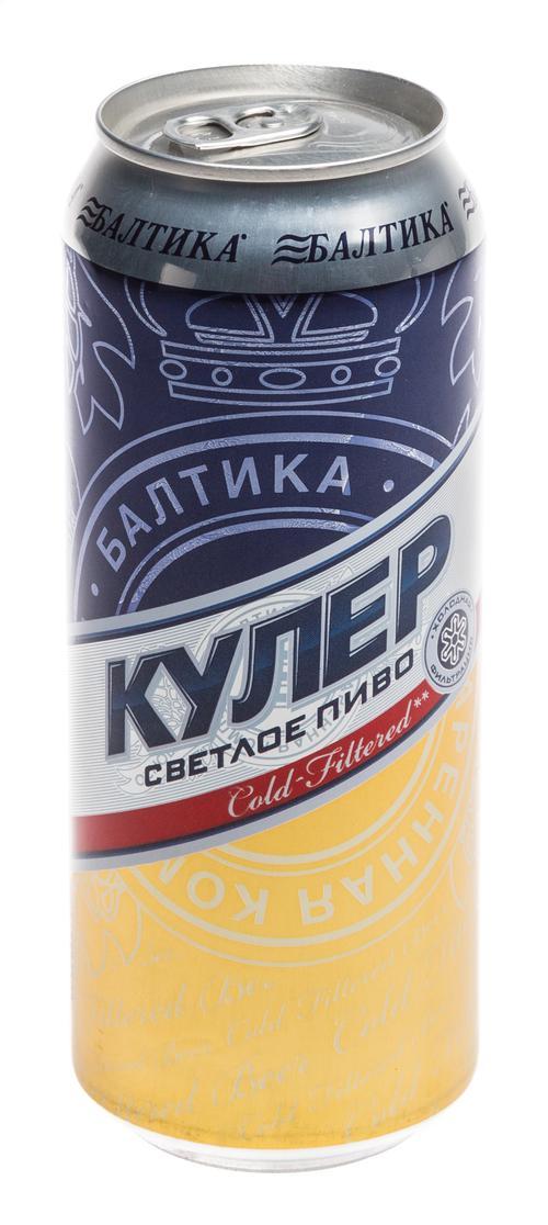 Пиво светлое Балтика Кулер