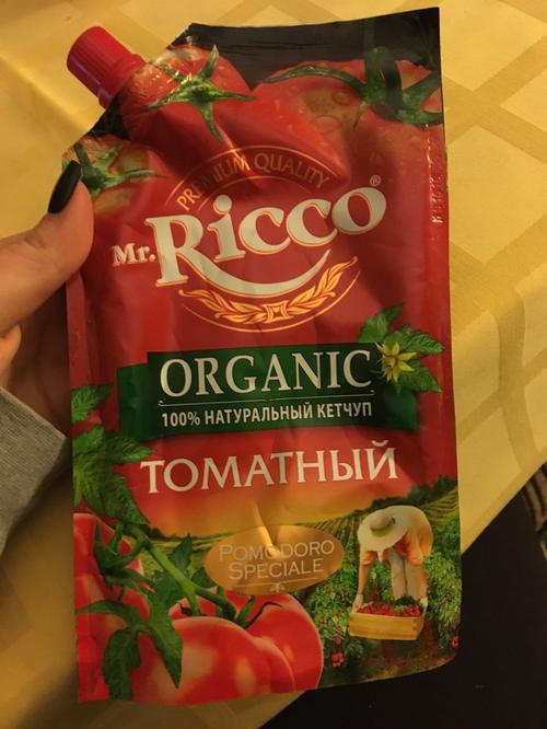 фото8 Кетчуп томатный Pomodoro Speciale Mr.Ricco. Высшая категория. Пастеризованный.