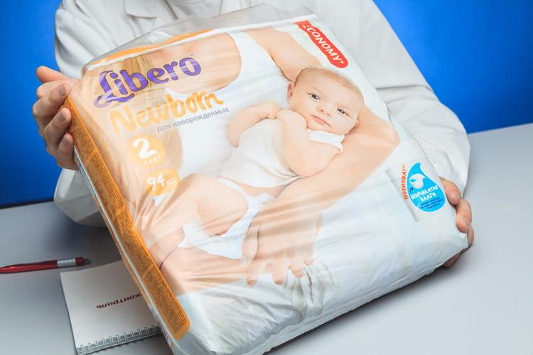 Подгузники Libero Newborn (3-6 кг)