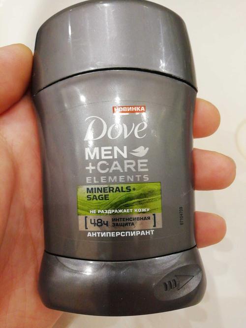 """фото Dove Men+Care антиперспирант карандаш """"Свежесть минералов и шалфея"""", 50 мл"""
