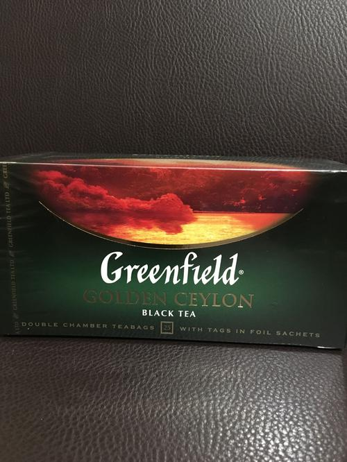 "фото3 Чай черный ""Гринфилд Голден Цейлон"" (Greenfield Golden Ceylon) байховый, 25пак."
