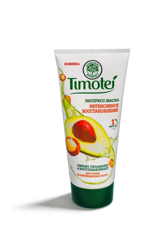 """Timotei экспресс-маска для волос """"Интенсивное восстановление"""", 180 мл"""