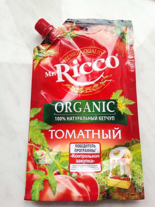 фото1 Кетчуп томатный Pomodoro Speciale Mr.Ricco. Высшая категория. Пастеризованный.