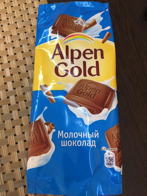 фото17 Шоколад Alpen Gold молочный, 90гр.