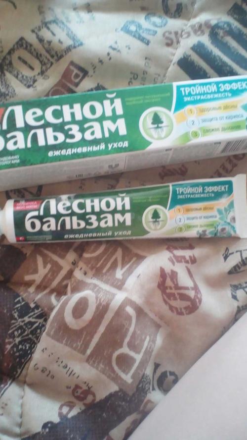 """фото1 Зубная паста """"ЛЕСНОЙ БАЛЬЗАМ"""" от компании unilever"""