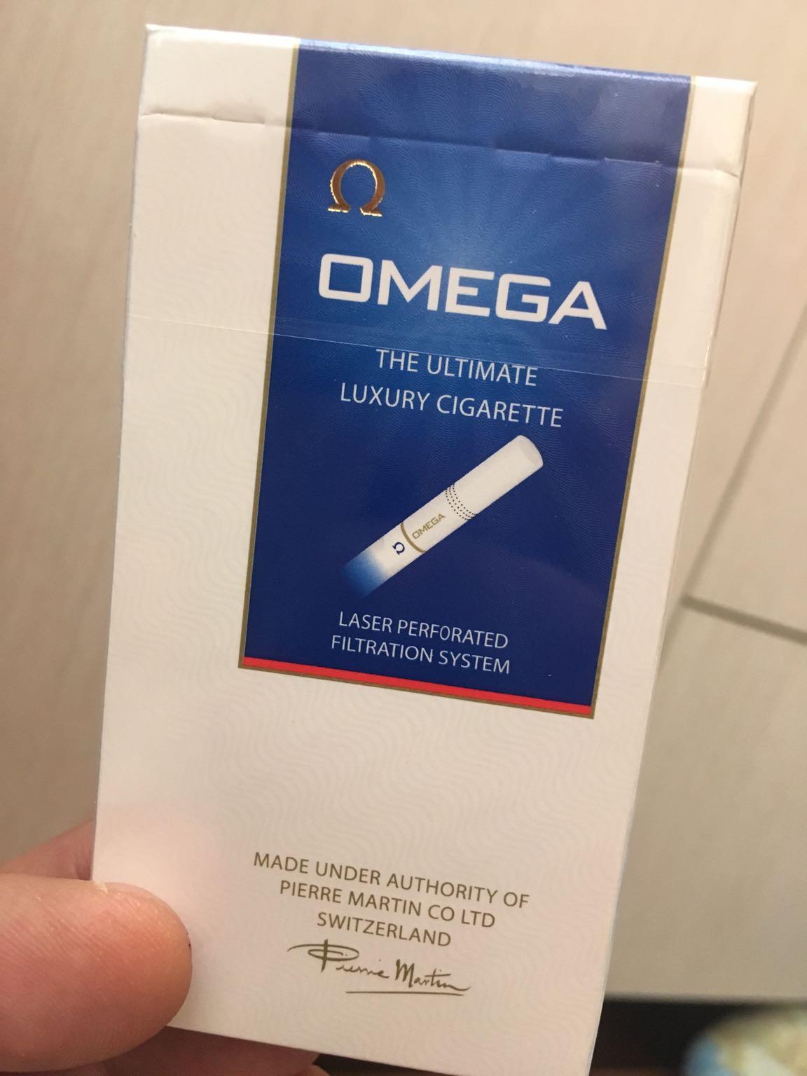 сигареты omega aqua blue купить