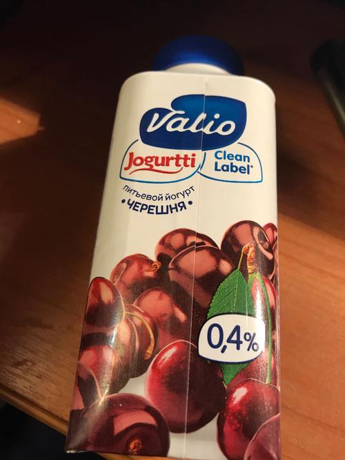 """отзыв Питьевой йогурт """"Valio"""", черешня"""