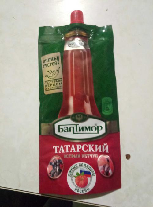 фото2 Балтимор Татарский острый кетчуп