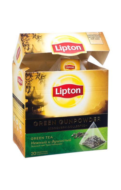 отзыв Чай зеленый Lipton Green Gunpowder байховый ароматизированный