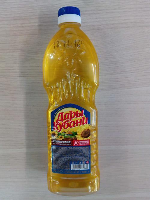 фото1 Масло подсолнечное нерафинированное «Дары Кубани»
