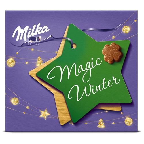 Набор конфет Milka из молочного шоколада с молочной начинкой 0,11кг