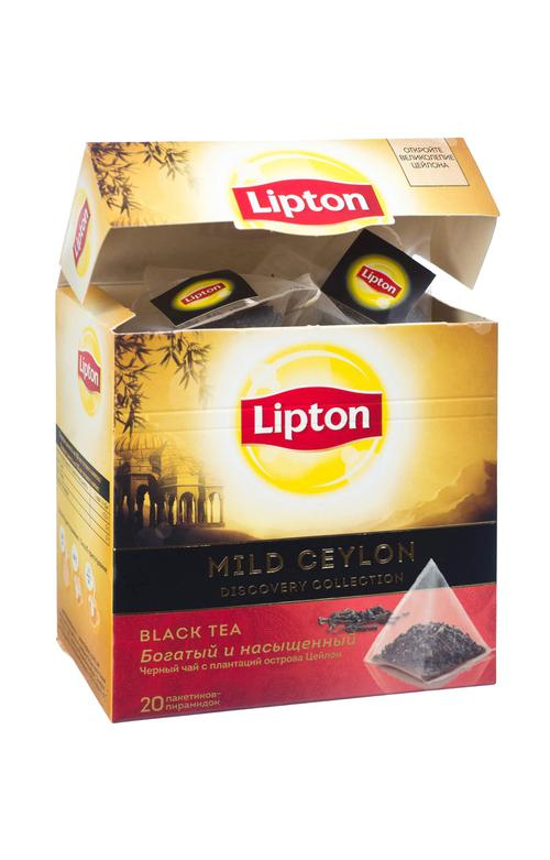 отзыв Чай чёрный Lipton Mild Celon байховый цейлонский, 20пак.
