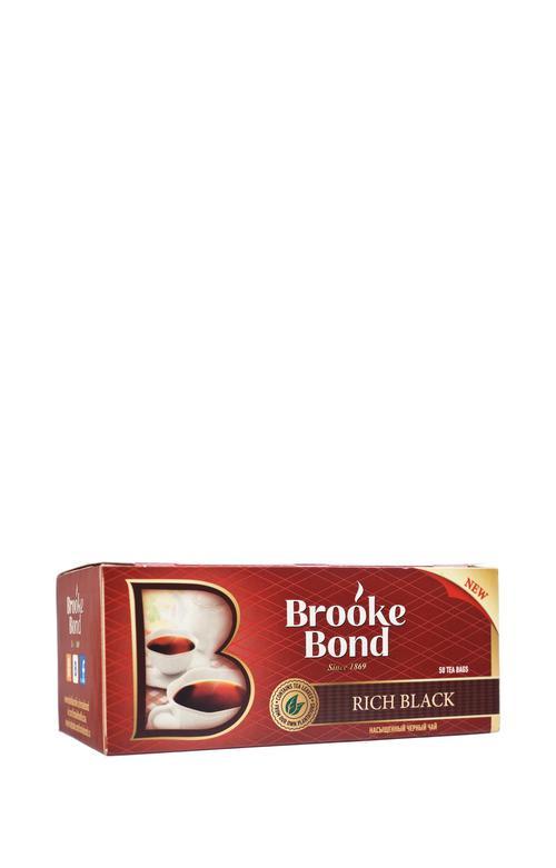 Чай brooke Bond крепкий черн. 50 пак.