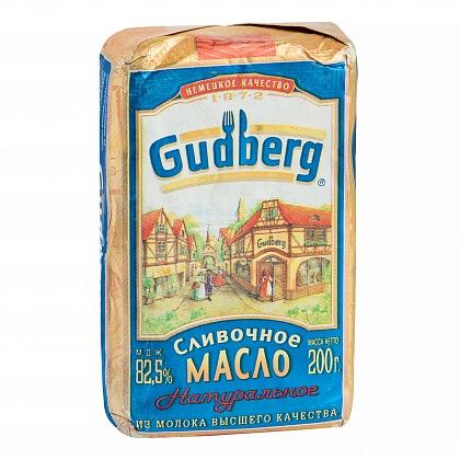 """Масло сливочное натуральное из молока высшего качества """"Gudberg"""""""