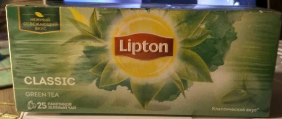 фото7 Чай зел grn tea clas 24x25пx1.7г