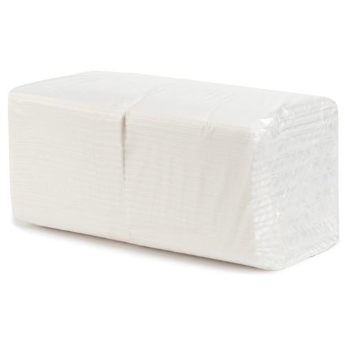 Салфетки сервировочные однослойные Basic 82% 17г/м2 400 листов 18шт в упаковке